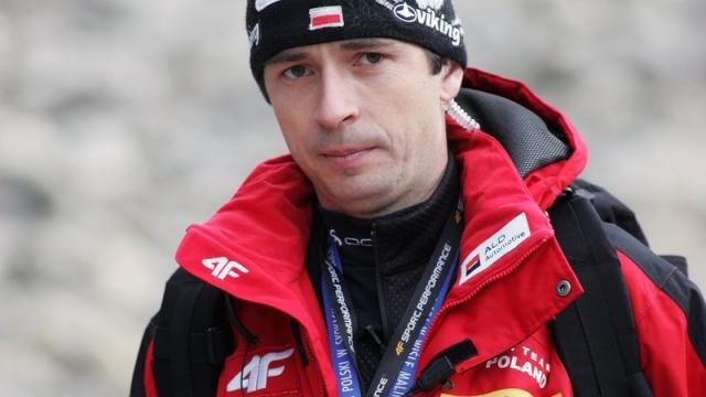 Łukasz Kruczek - były już trener naszych skoczków