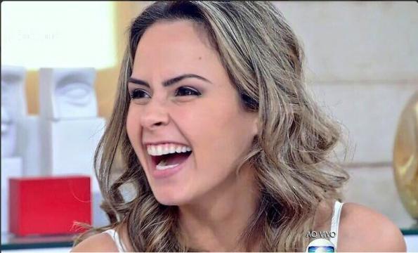 Ana Paula no Encontro (Reprodução/Globo)