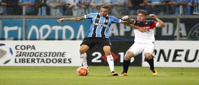 Grêmio tropeça e empata com o San Lorenzo