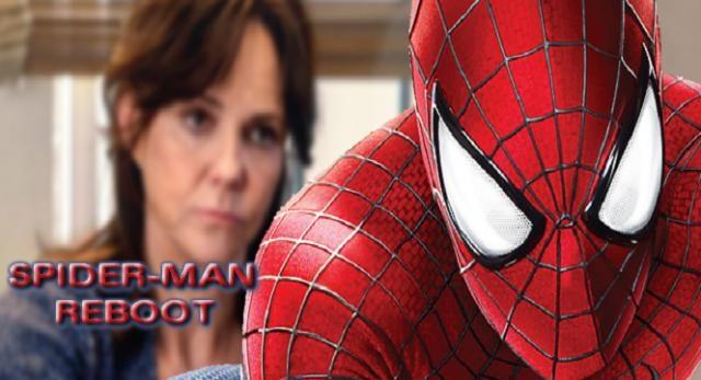 Sally Field arremete con fuerzas sobre Spider-Man