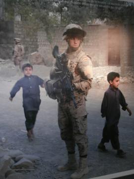 Imagen de recuerdo. Alerta en una calle de Kabul.