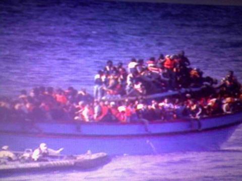 Emigración a riesgo, estrecho de la Florida
