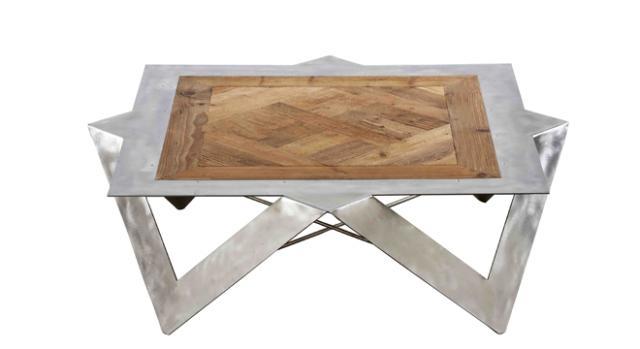 Il tavolo in legno e metallo DB004452 di Dialma Brown