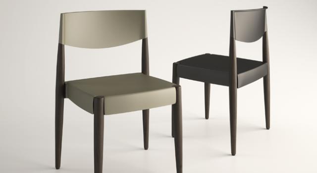 Seduta Virna, design Marco Mazzer per Alma Design