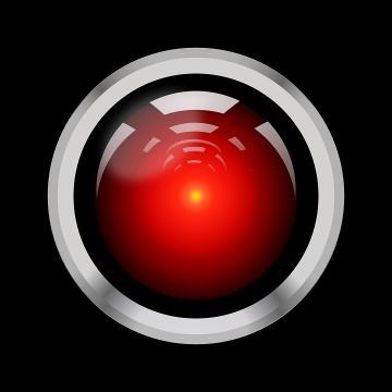 HAL 9000. 2001: Odisea del espacio , Kubrick (1968) . Inteligencia artificial