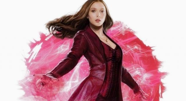 Elizabeth Olsen es Scarlet Witch en 'Civil War'