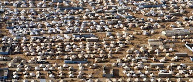 Campo di rifugiati siriani in Turchia