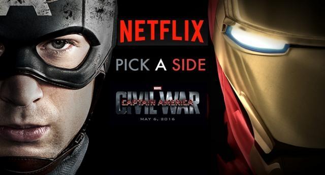 'Civil War' dará el pie a Marvel y Netflix