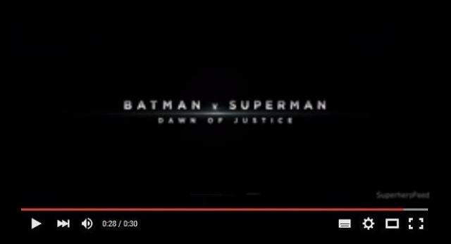 Detective Comics hace oficial el último spot de 'Batman v Superman: Dawn of Justice'