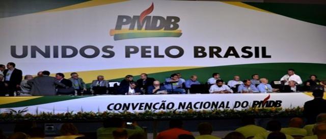 Convenção nacional do PMDB vai se reunir na terça