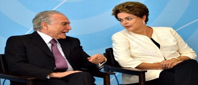 Michel Temer deve romper com Dilma Rousseff