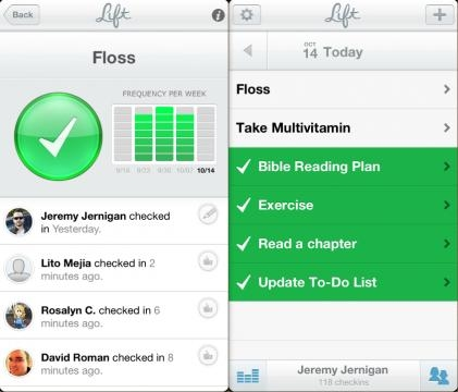 Lift - Manage tasks in the palm of your hands