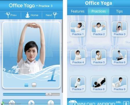 Office Yoga - Do yoga on the run