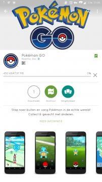 Imagen de la descarga en el Play Store