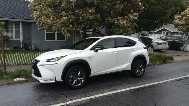 The 2015 Lexus NX 200t Crossover SUV