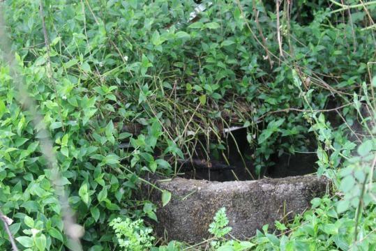 O poço ainda se encontra a céu aberto, e terá uma profundidade de 12 metros.