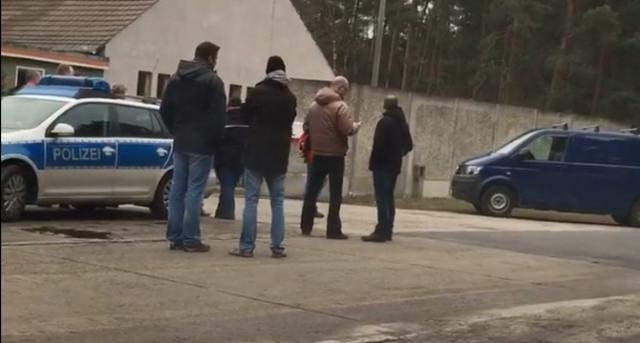 Polizei war bei der Räumung von Youtopia vor Ort