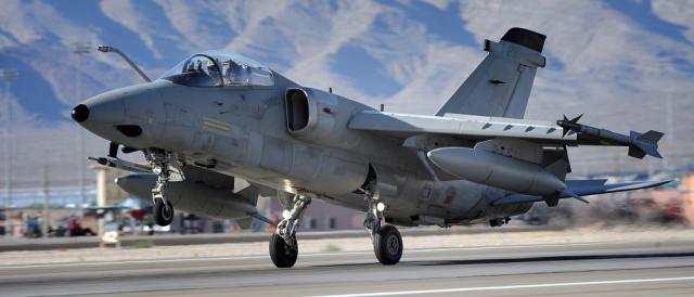 Un Tornado dell'Aeronautica militare italiana.