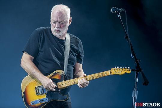 Il celebre chitarrista David Gilmour