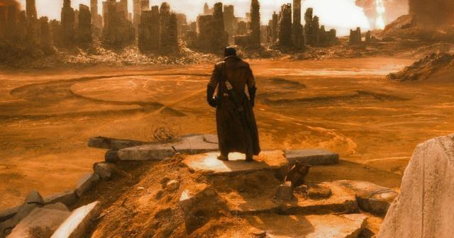 Imagen del trailer de 'Batman v Superman'