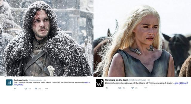 Portraying Jon Snow and Daenarys - Game of Thrones