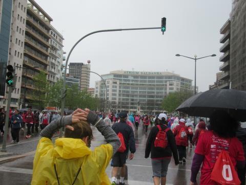 Milhares de pessoas participaram na Corrida Sempre Mulher