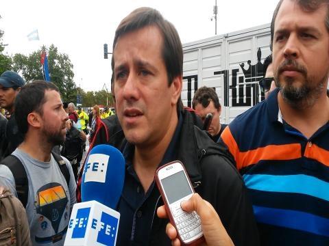 Mariano Recalde - excandidato a jefe de gobierno, CABA