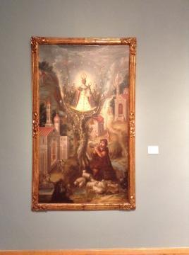 Cristobal de Villalpando, la virgen de Aránzazu