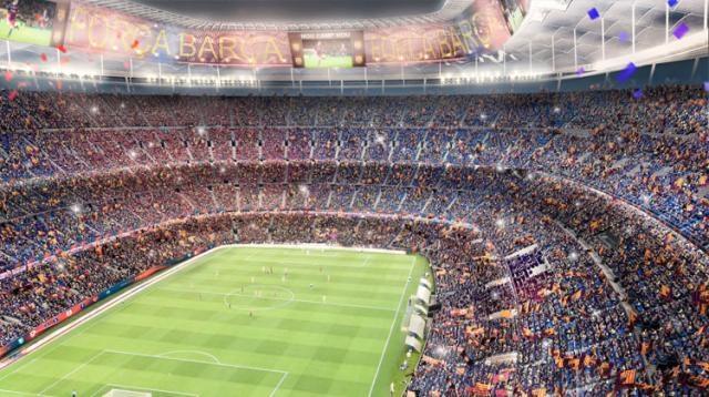 Capacidade do Camp Nou será ampliada para 105 mil espectadores