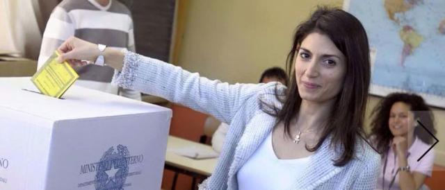La candidata al Campidoglio, Virginia Raggi (Fonte Fb)