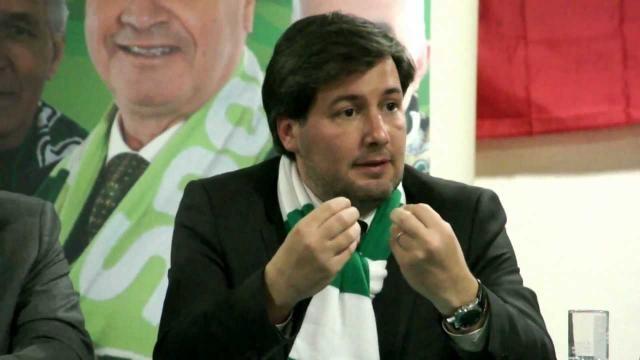 Bruno de Carvalho, presidente do Sporting CP