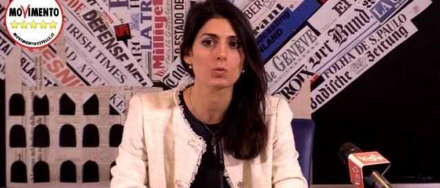 Virginia Raggi, candidata sindaco M5s a Roma.