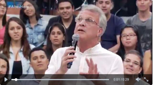 Bial elogia Ana Paula no BBB16 (Reprodução/Globo)