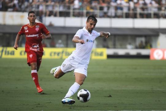 O Audax recebeu o Santos no primeiro jogo do paulistão 2016