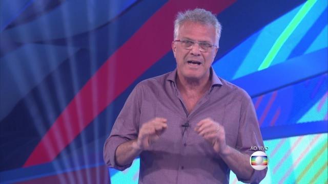 Pedro Bial fala sobre BBB16 (REprodução/Globo)