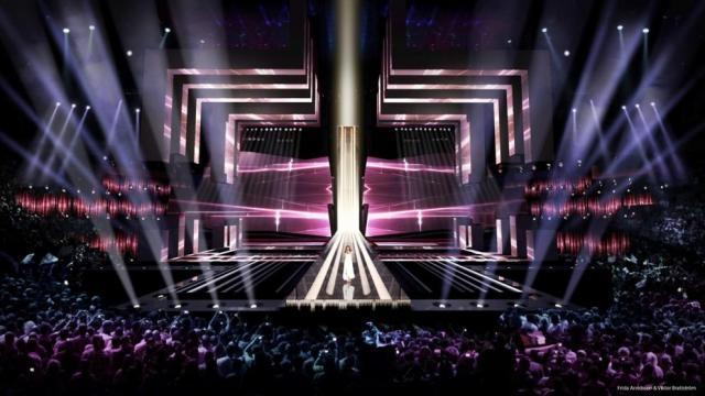 Escenario Eurovisión Song Contest 2016 (Fuente: lavanguardia)