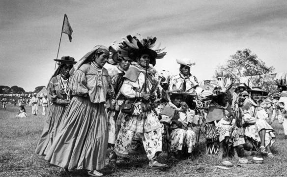 Nacho López hizo muchas fotografías del indigenismo mexicano