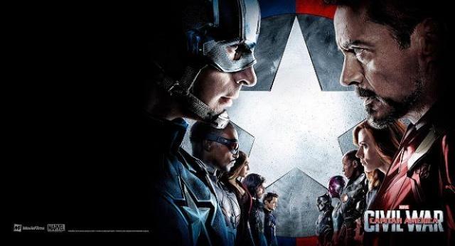 Marvel y Disney hacen oficiales sus reseñas taquilleras para 'Capitán América: Civil War'