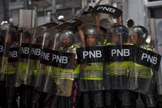 Violencia en las marchas de Caracas