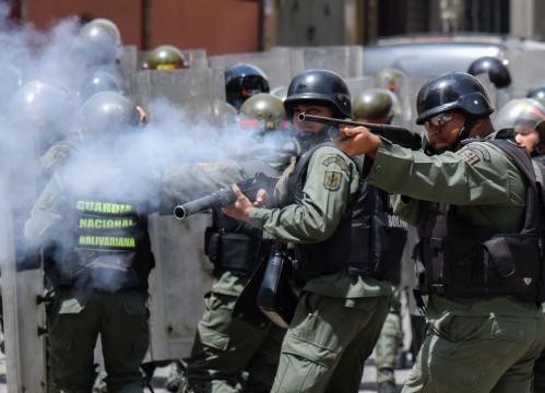 Violencia y represion de la policia