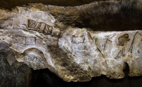 Arte rupestre analizado por la paleoantropóloga Genevieve von Petzinger