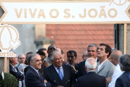 S. João na cidade do Porto com o Primeiro-Ministro e o Presidente da CM Porto.