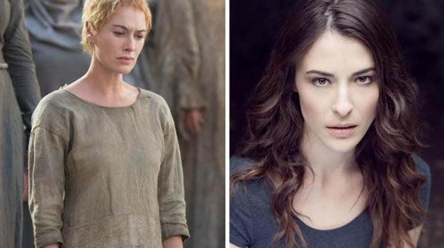 Lena Headey la reina Cersei Lannister.