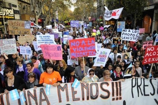 Dia viernes 3 de junio una nueva marcha del #NiUnaMenos