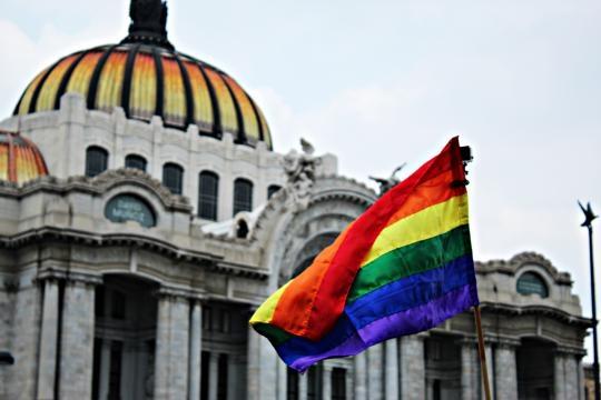Comunidad LGBT en CDMX. Foto Jessica López