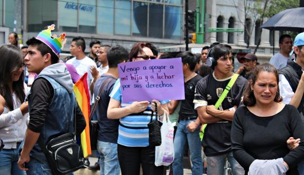 Marcha del #OrgulloGay Foto Jessica López