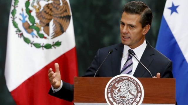 México: el presidente Peña Nieto compara el discurso de Donald ...