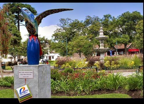 Cumbayá y su parque sitio de turismo gastronómico nacional e internacional.