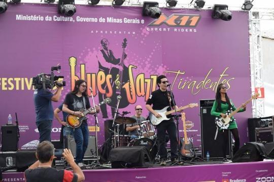 Apresentação no festival Blues & Jazz Tiradentes