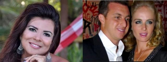 Mara Maravilha chamou Luciano Huck de 'feio' e ele não gostou